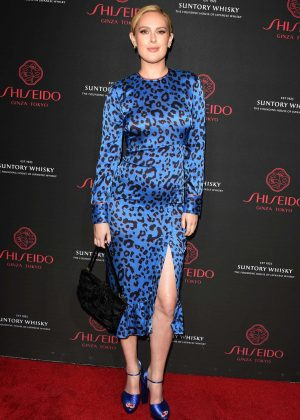 Rumer Willis - Shiseido Makeup Launch in LA