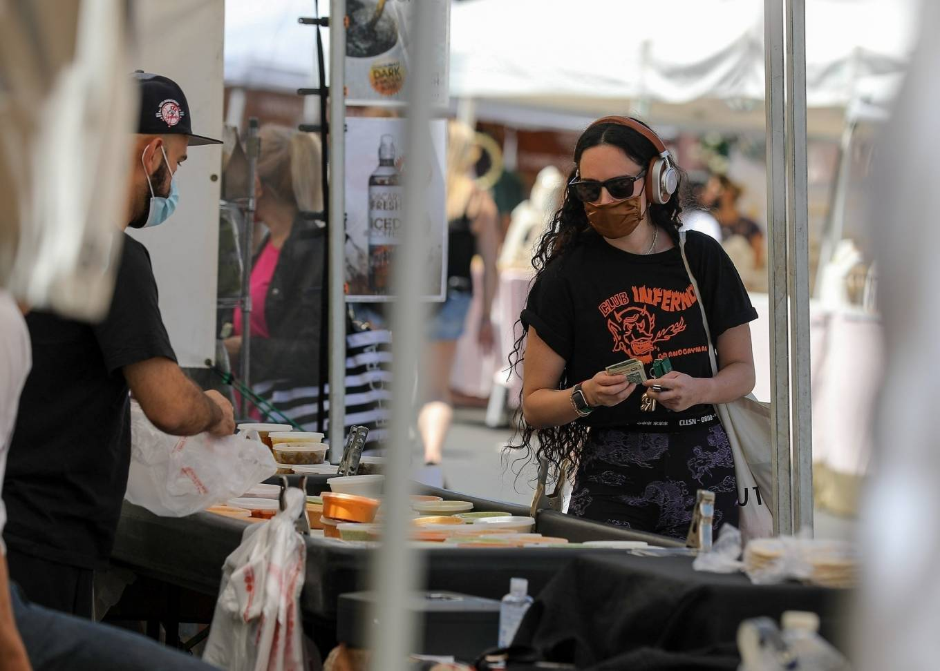 Rumer Willis 2021 : Rumer Willis – Shopping at the farmers market in West Hollywood-07