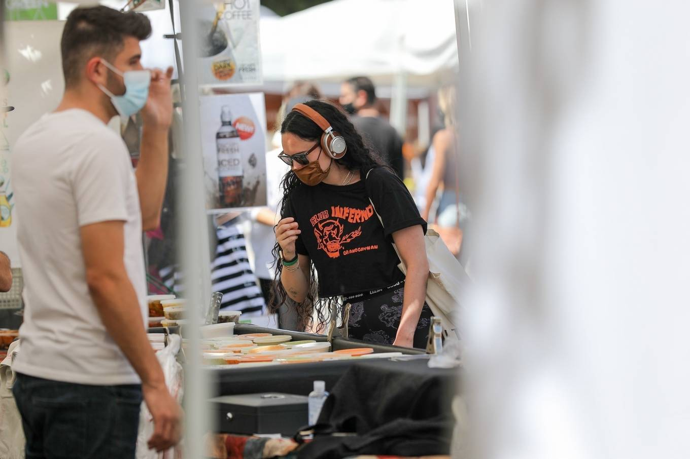 Rumer Willis 2021 : Rumer Willis – Shopping at the farmers market in West Hollywood-23