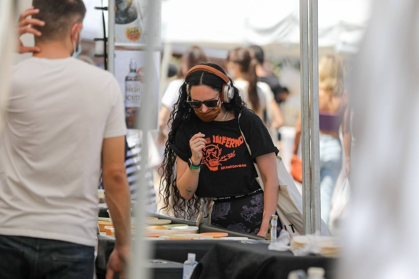 Rumer Willis 2021 : Rumer Willis – Shopping at the farmers market in West Hollywood-25