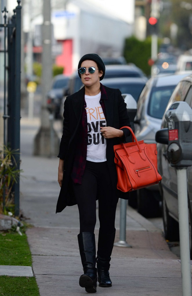 Rumer Willis Shopping in West Hollywood