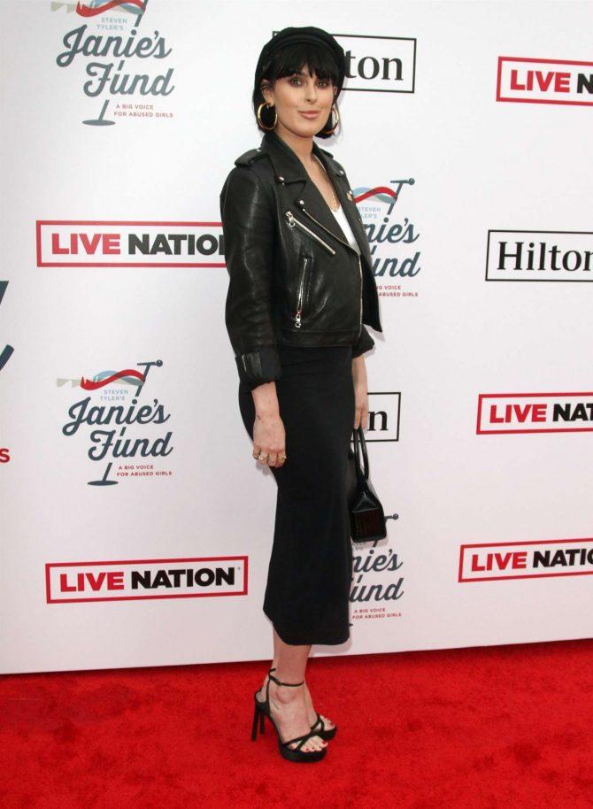 Rumer Willis: Steven Tylers Grammy Awards Party -03