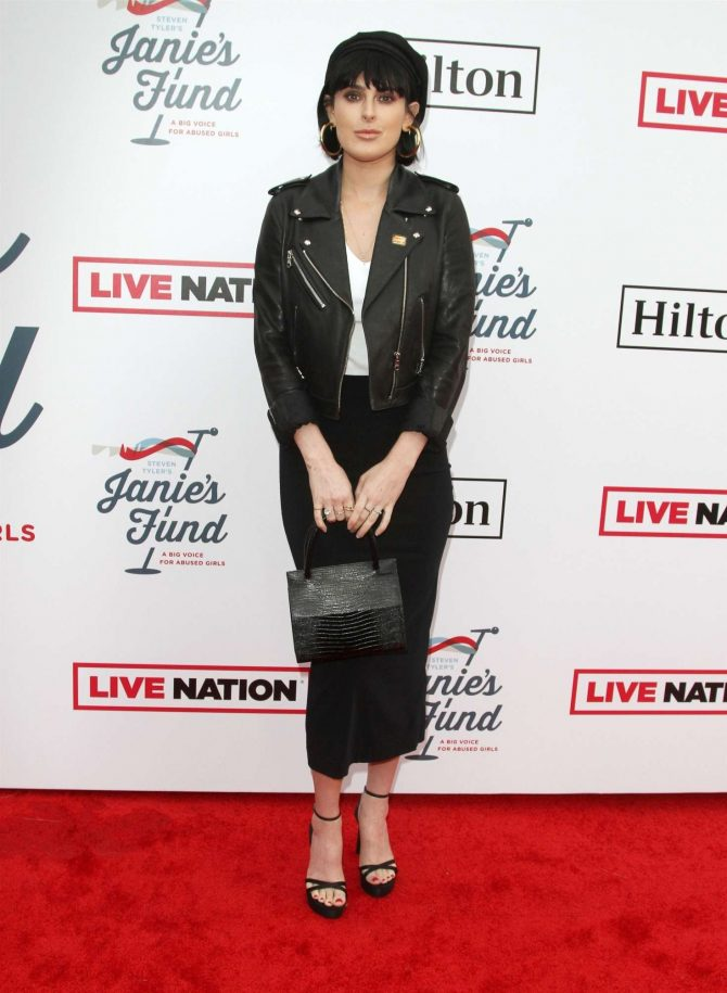 Rumer Willis: Steven Tylers Grammy Awards Party -04