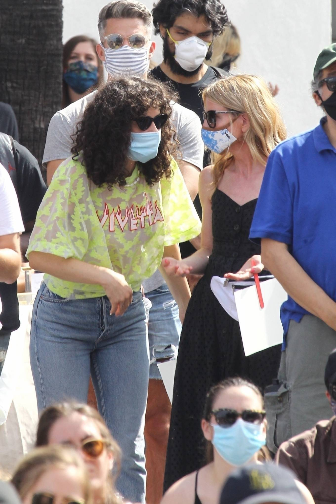 Rumer Willis - Supports Juneteenth - BLM Rally in West Hollywood
