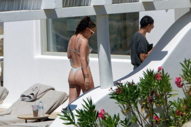 Rumer Willis - Wearing a bikini in Mykonos