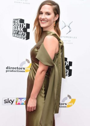 Ruth Bradley - South Bank Sky Arts Awards 2017 in London