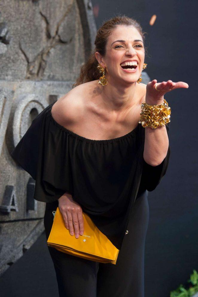 Ruth Gabriel - 'Jurassic World: Fallen Kingdom' Premiere in Madrid