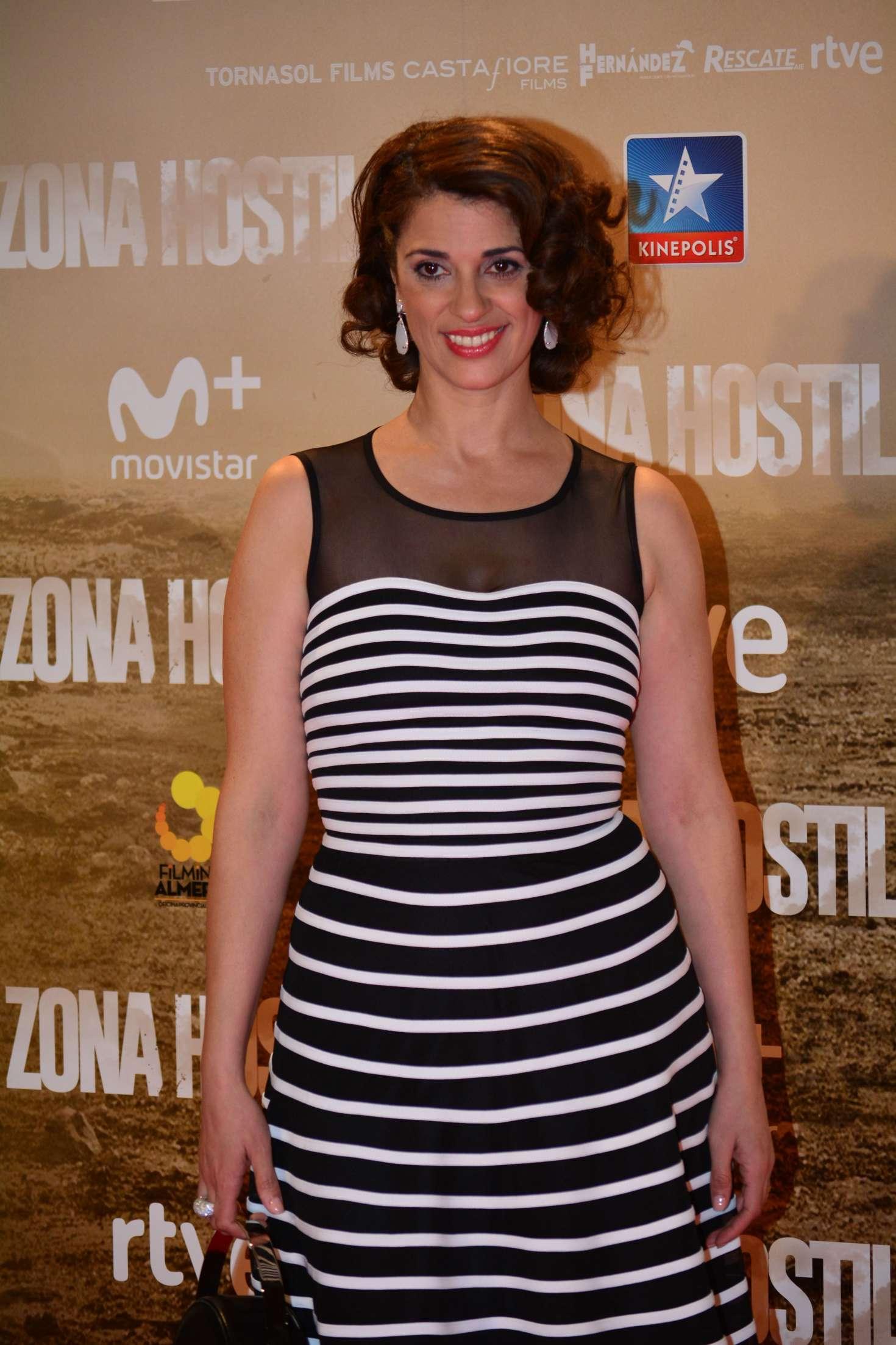 Ruth Gabriel - 'Zona Hostil' Premiere in Madrid