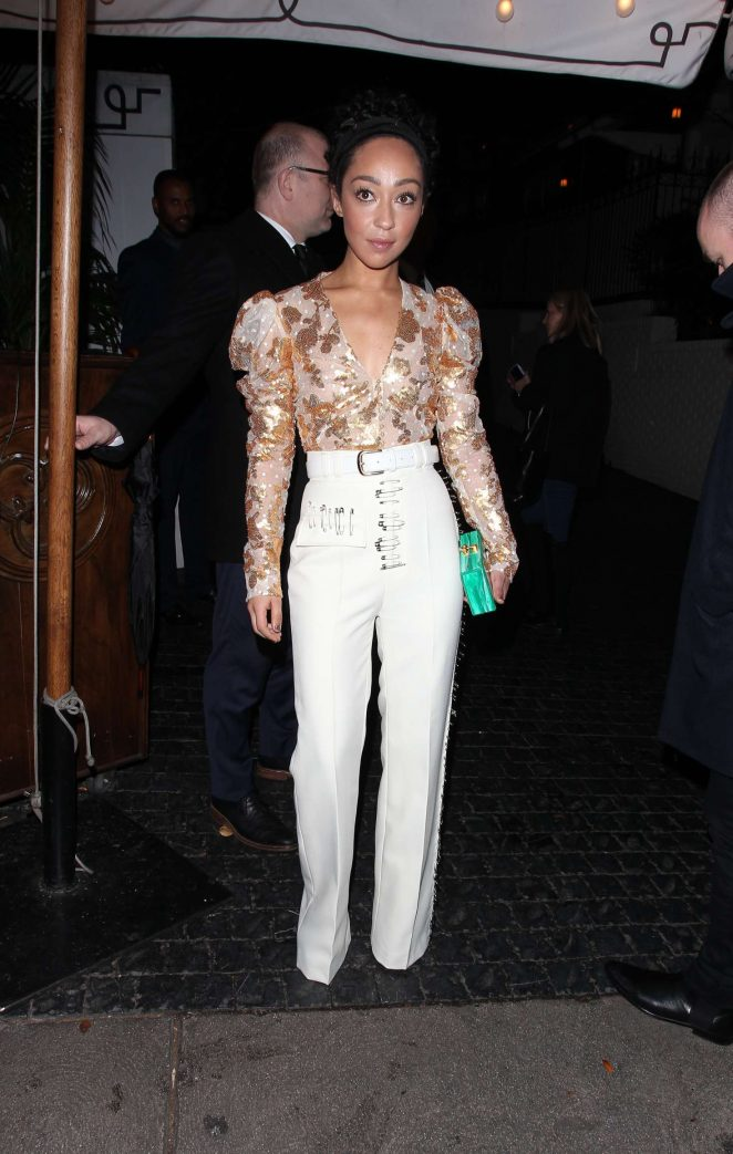 Ruth Negga - Arriving at the Chateau Marmont in West Hollywood