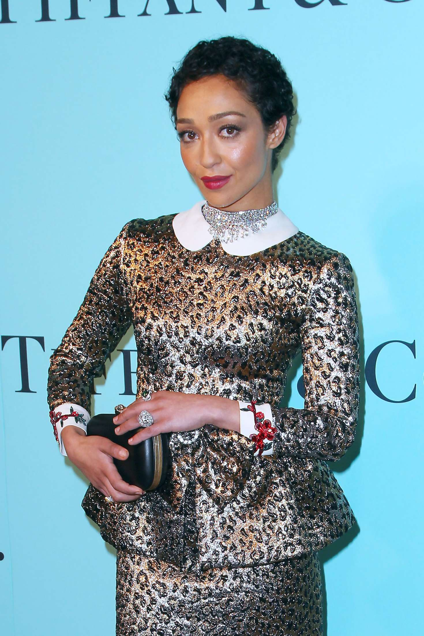 Ruth Negga Is Met Best Dressed 2017 Lainey: Tiffany And Co 2017 Blue Book Collection Gala