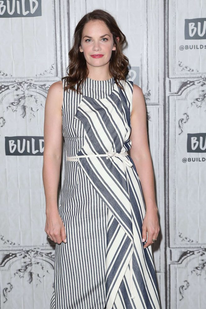 Ruth Wilson at AOL Build Speaker Series in New York