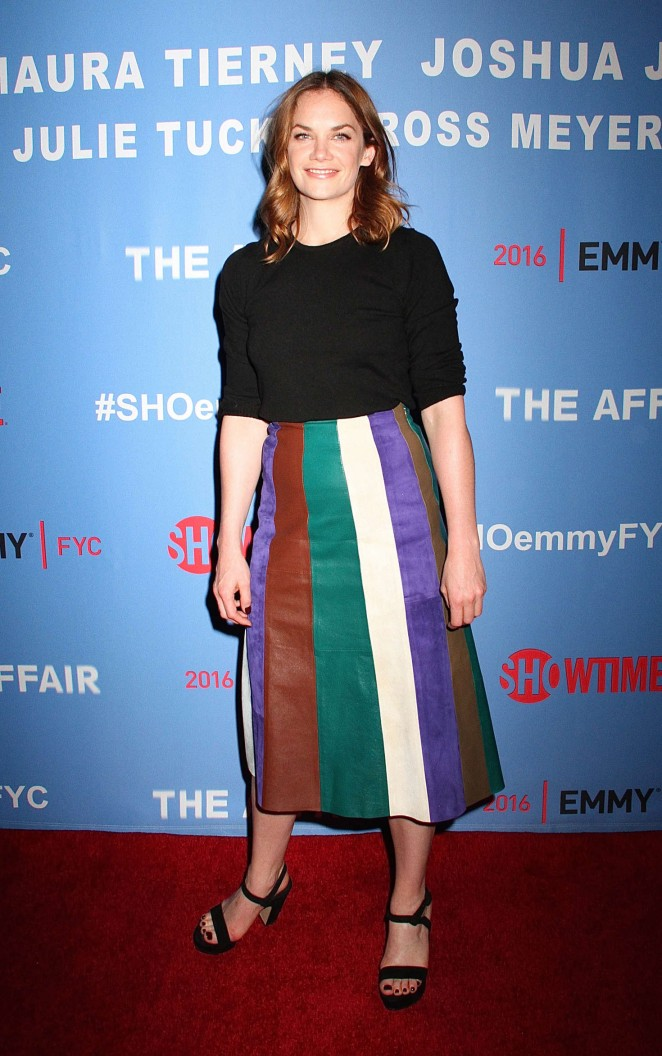 Ruth Wilson - FYC Awards Screening and Conversation With The Affair Team in New York
