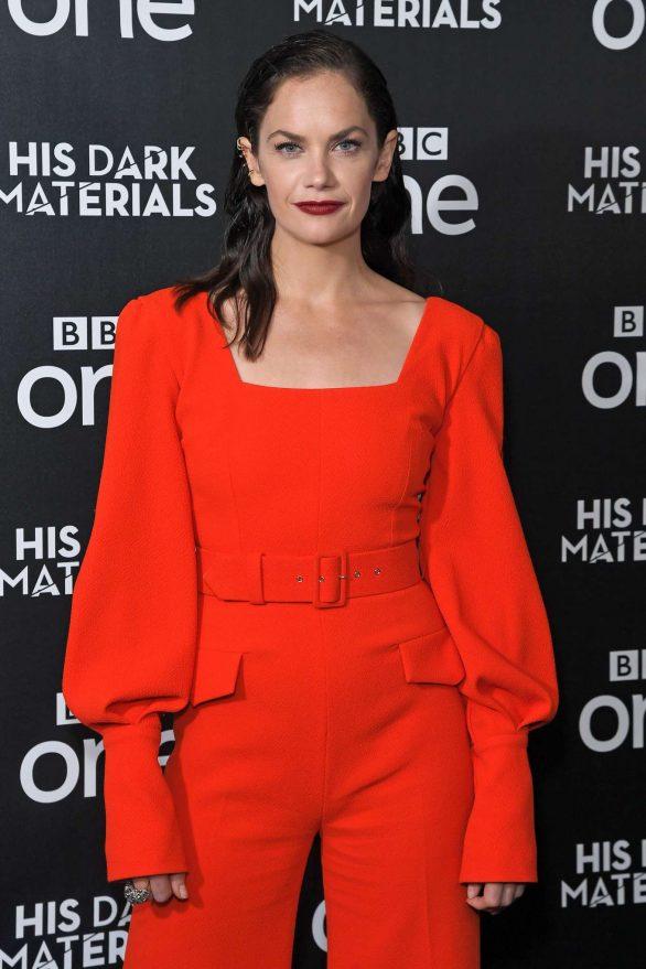 Ruth Wilson - 'His Dark Materials' TV Show Premiere in London
