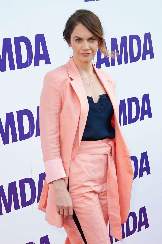 Ruth Wilson - LAMDA Center for Drama Training Opening Gala in London