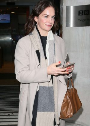 Ruth Wilson - Leaving Radio Station in London