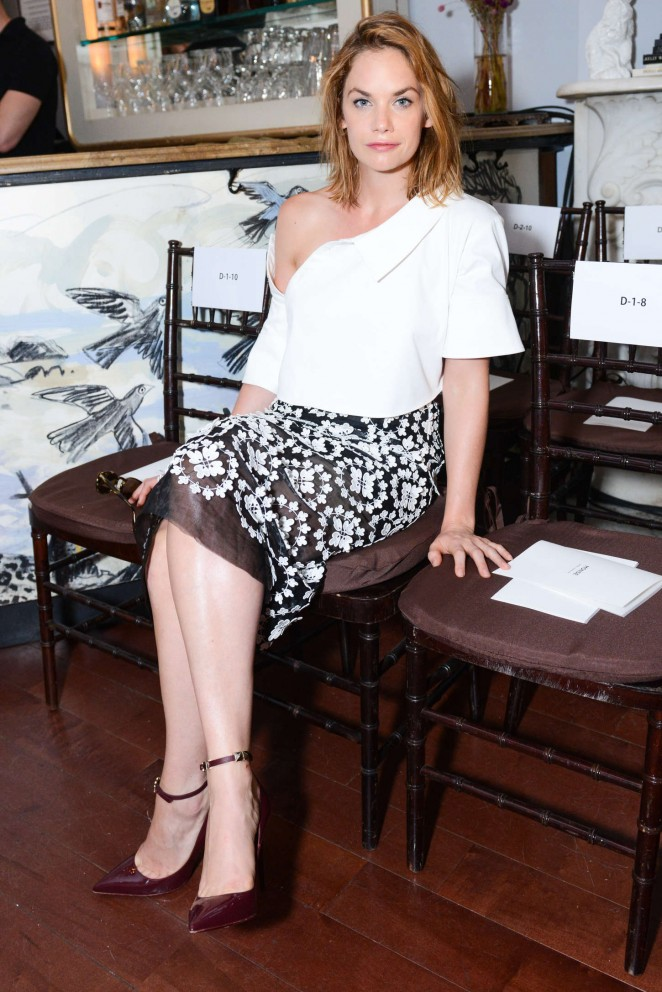 Ruth Wilson - Monse Fashion Show Spring 2016 NYFW in NYC