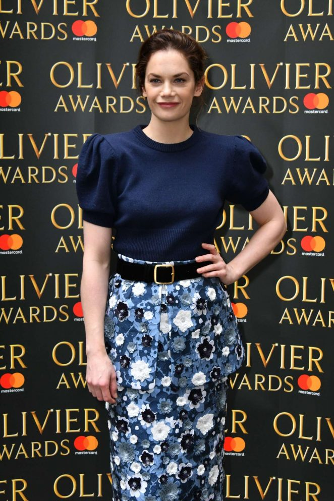 Ruth Wilson – The Olivier Awards Nominees Luncheon in London