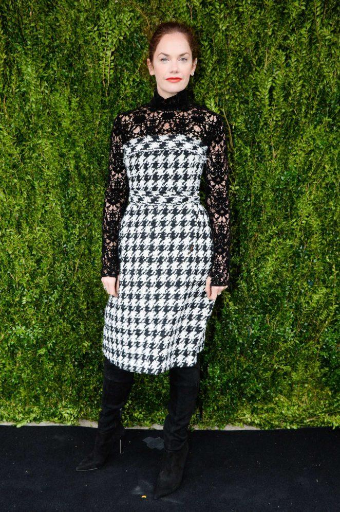 Ruth Wilson: The Tribeca Chanel Womens Filmmaker Program Luncheon -09