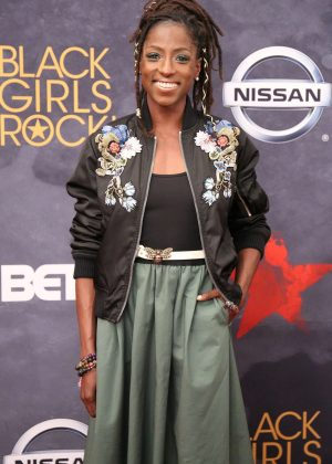 Rutina Wesley - 2017 BET Black Girls Rock in Newark