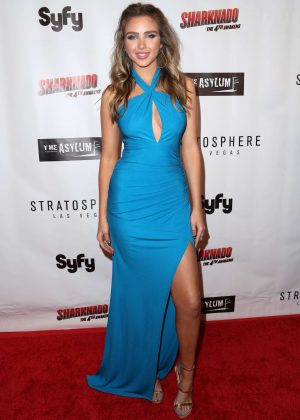 Ryan Newman - 'Sharknado: The 4th Awakens' Premiere in Las Vegas