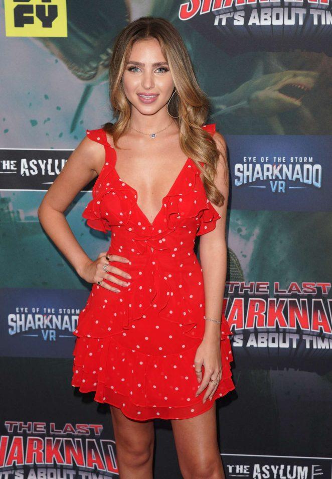 Ryan Newman – 'The Last Sharknado: It's About Time' Premiere in LA