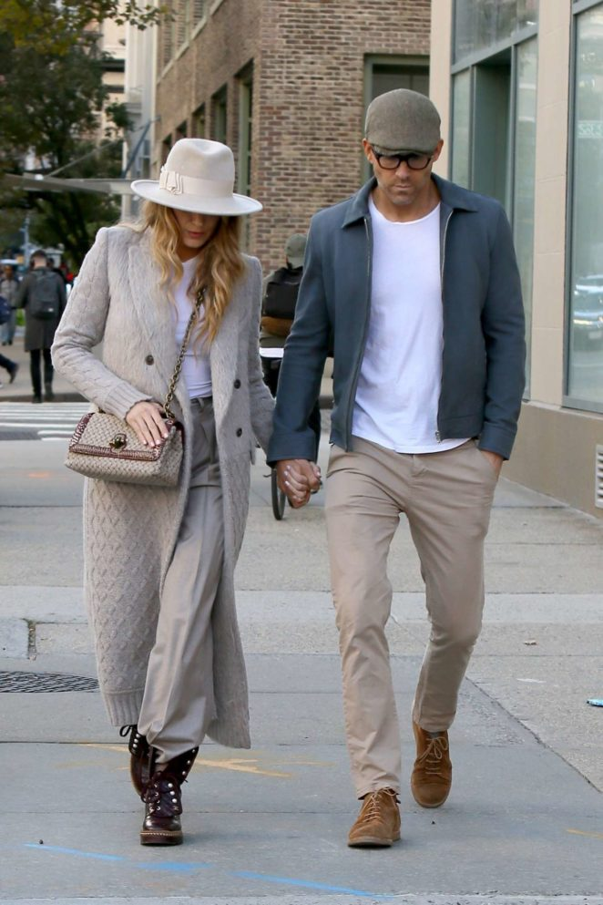Ryan Reynolds and Blake Lively out for a stroll in New York