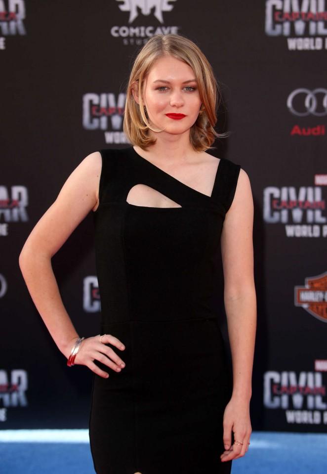 Ryan Simpkins – 'Captain America: Civil War' Premiere in