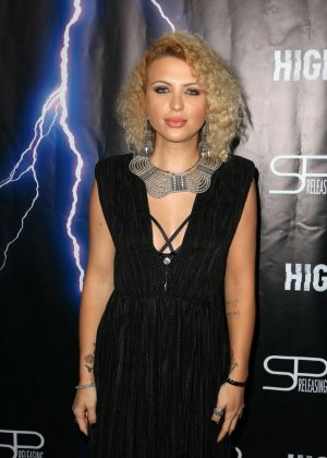 Sabina Lisievici - 'High Voltage' Premiere in Los Angeles