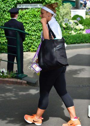 Sabine Lisicki - Arrives on Wimbledon Tennis Championships