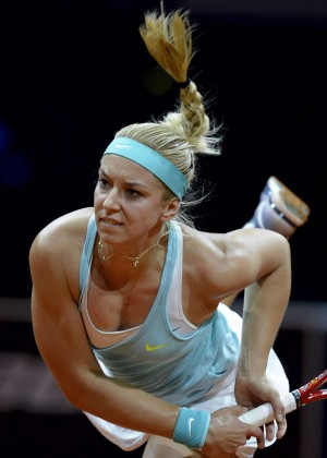 Sabine Lisicki - Porsche Tennis Grand Prix in Stuttgart Day3