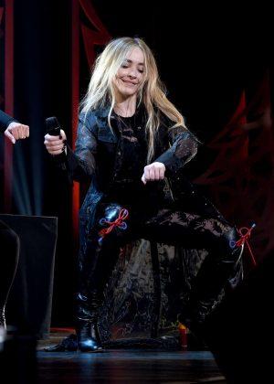 Sabrina Carpenter - 106.1 KISS FM's Jingle Ball 2018 in Dallas