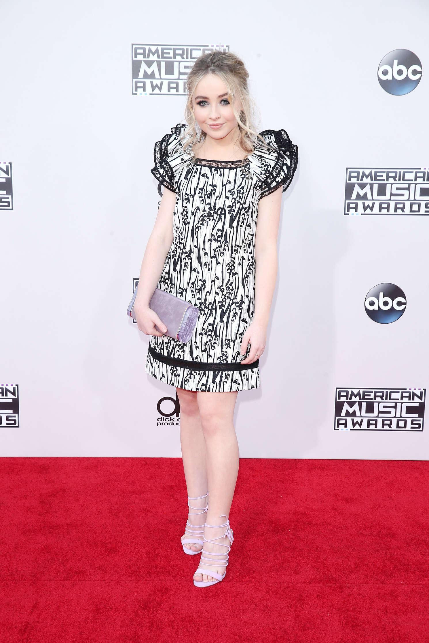 Sabrina Carpenter - 2015 American Music Awards in Los Angeles