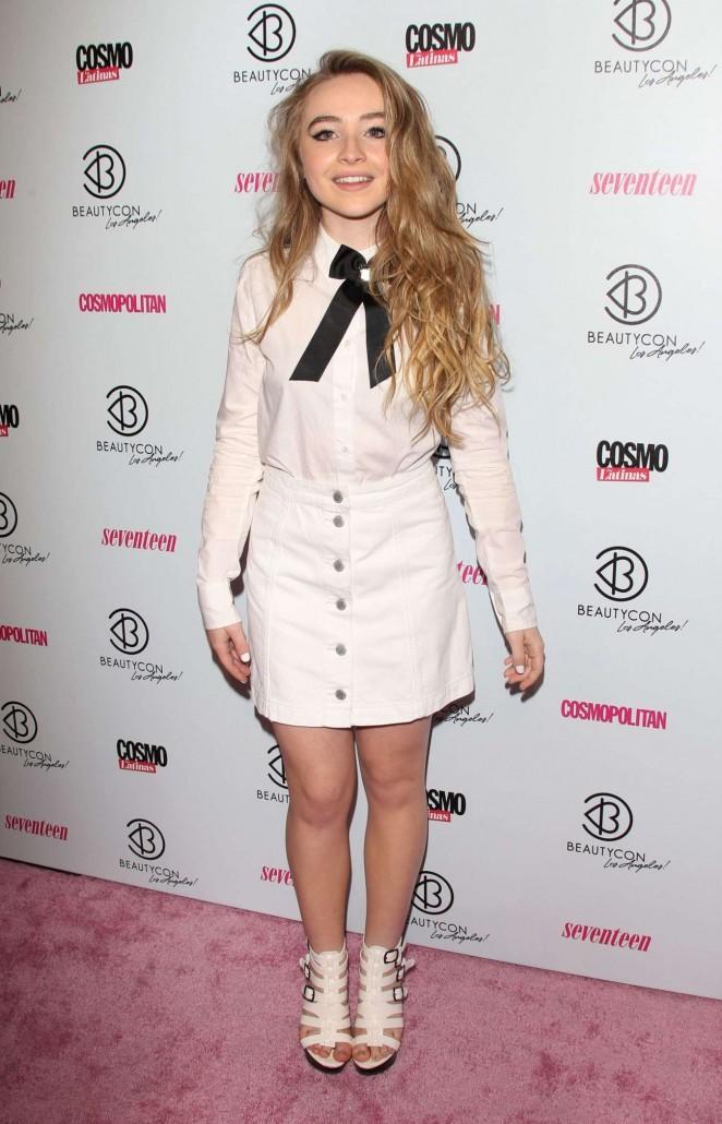 Sabrina Carpenter - 2015 BeautyCon in Los Angeles