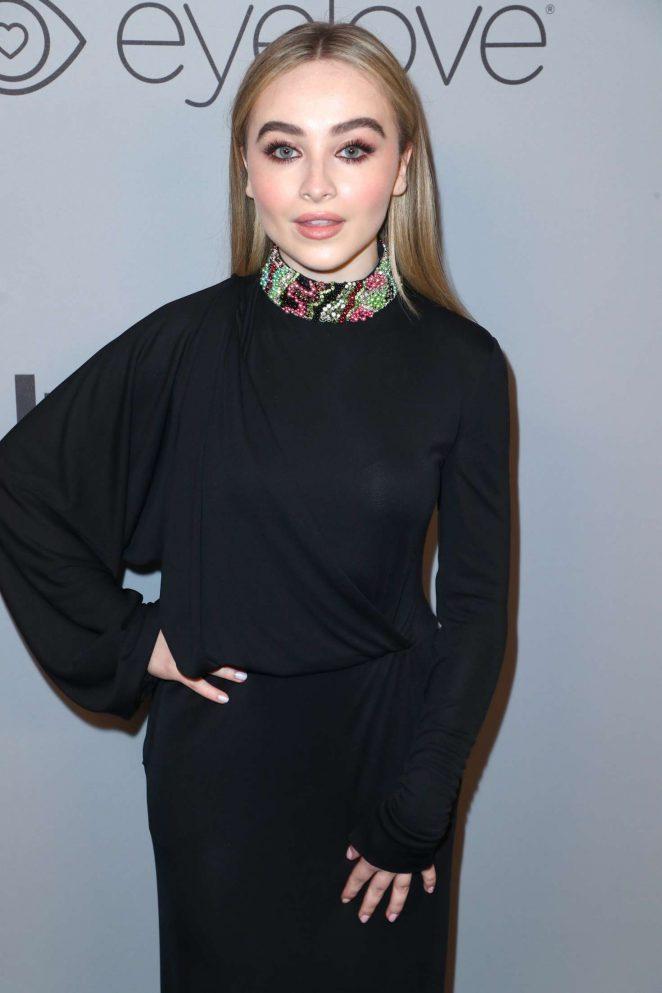 Sabrina Carpenter - 2018 InStyle and Warner Bros Golden Globes After Party in LA