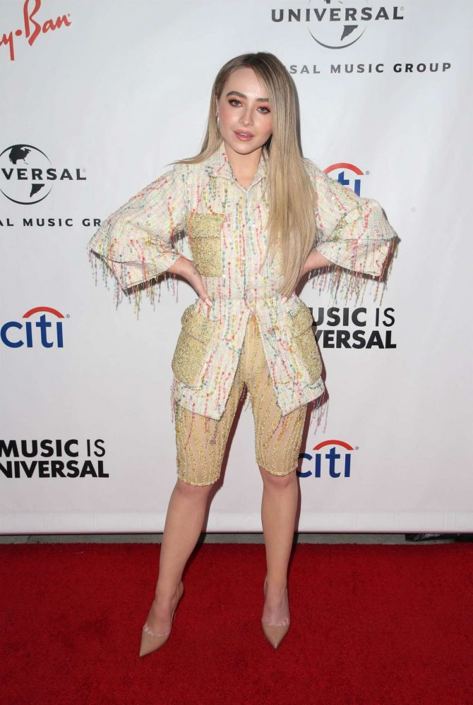 Sabrina Carpenter - 2019 Universal's Grammys After Party in LA