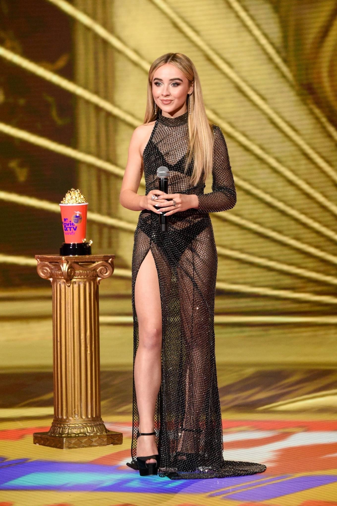Sabrina Carpenter 2020 : Sabrina Carpenter – 2020 MTV Movie and TV Awards: GOAT in LA-03