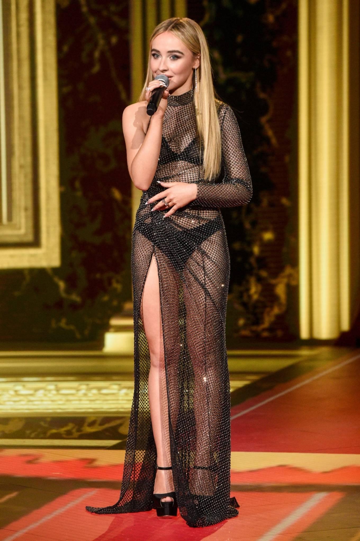 Sabrina Carpenter 2020 : Sabrina Carpenter – 2020 MTV Movie and TV Awards: GOAT in LA-05