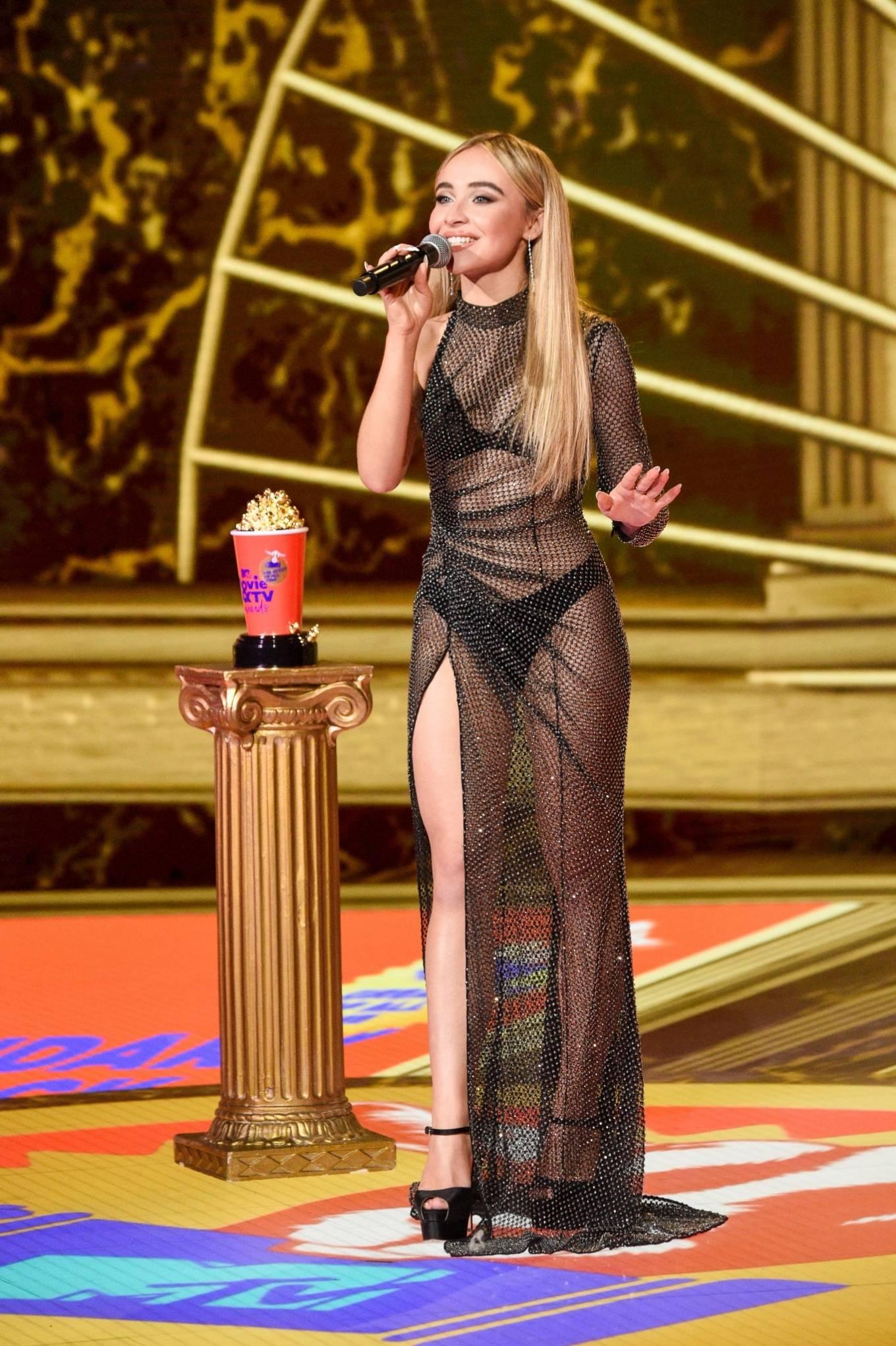 Sabrina Carpenter 2020 : Sabrina Carpenter – 2020 MTV Movie and TV Awards: GOAT in LA-13