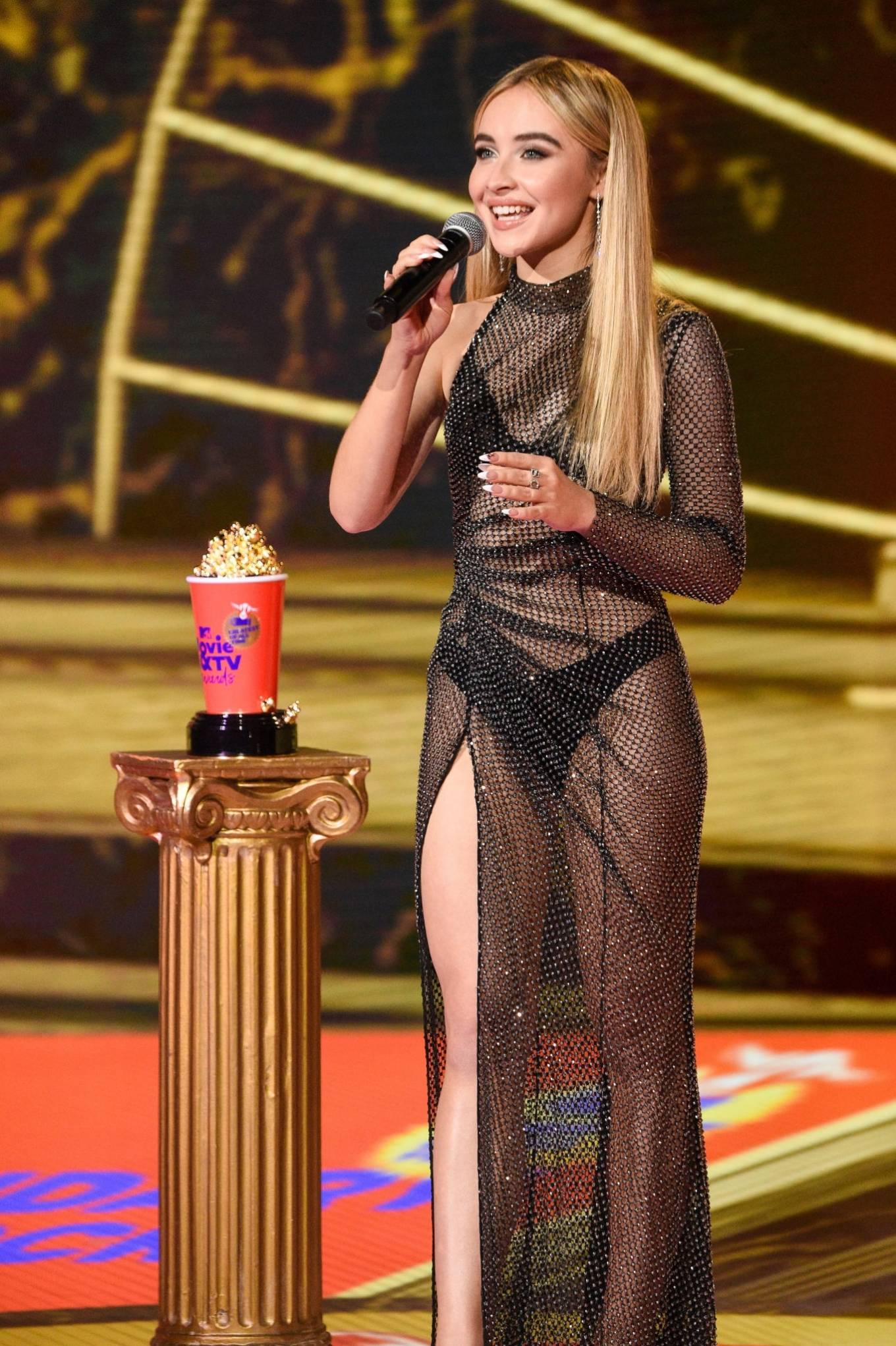 Sabrina Carpenter 2020 : Sabrina Carpenter – 2020 MTV Movie and TV Awards: GOAT in LA-15