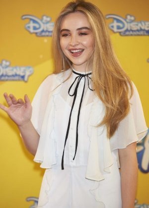 Sabrina Carpenter - 'Adventures in Babysitting' Photocall in Madrid