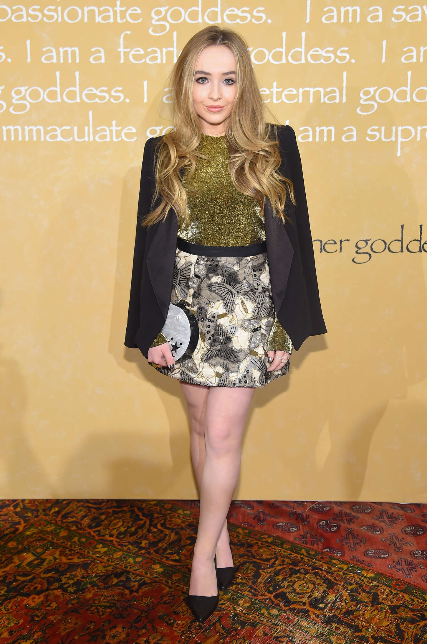 Sabrina Carpenter - Alice + Olivia By Stacey Bendet Fashion Show in NYC