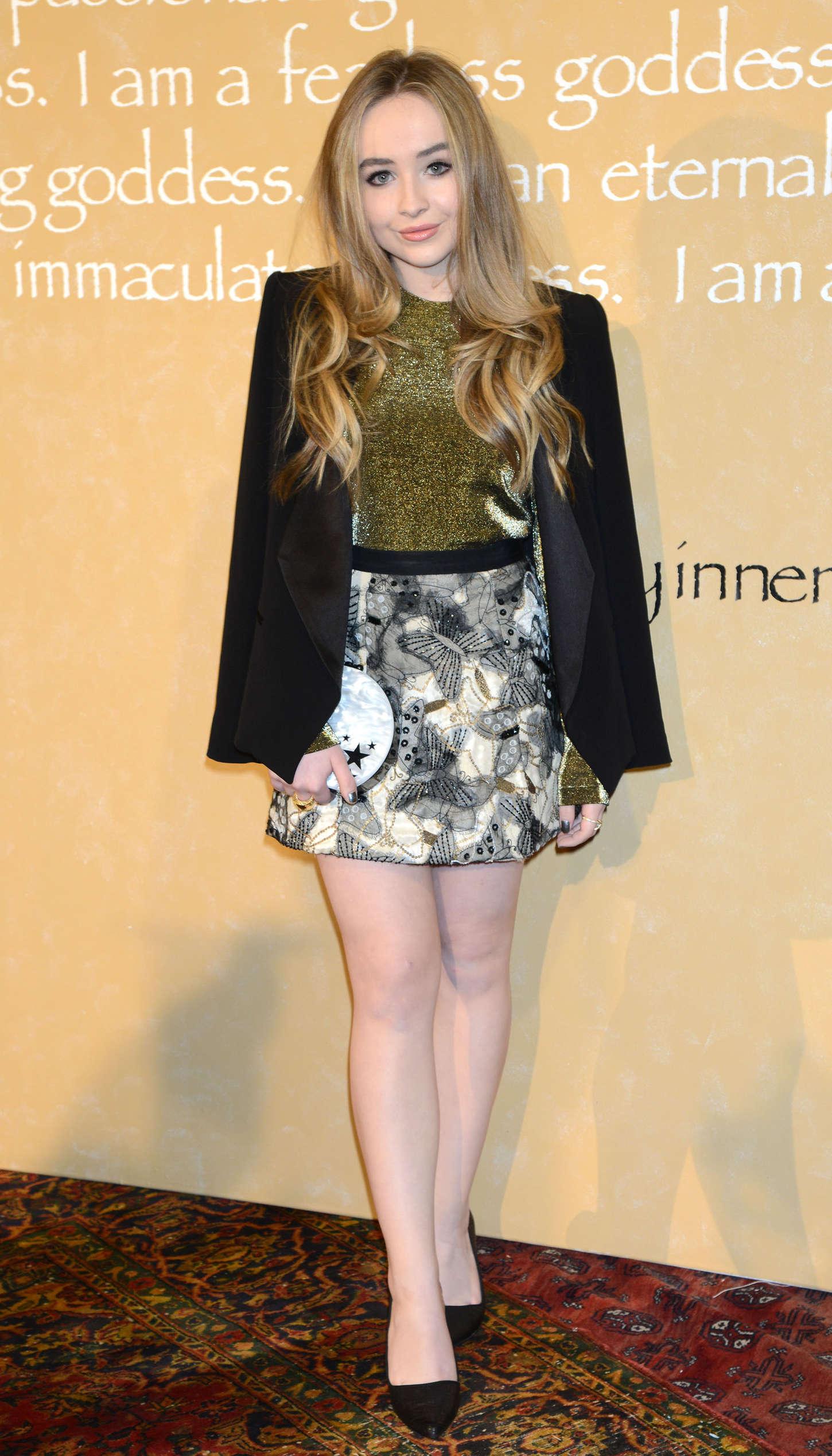 Sabrina Carpenter 2015 : Sabrina Carpenter: Alice Olivia By Stacey Bendet Fashion Show -05