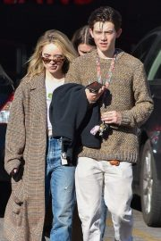 Sabrina Carpenter and Griffin Gluck at Sweet Butter in Studio City