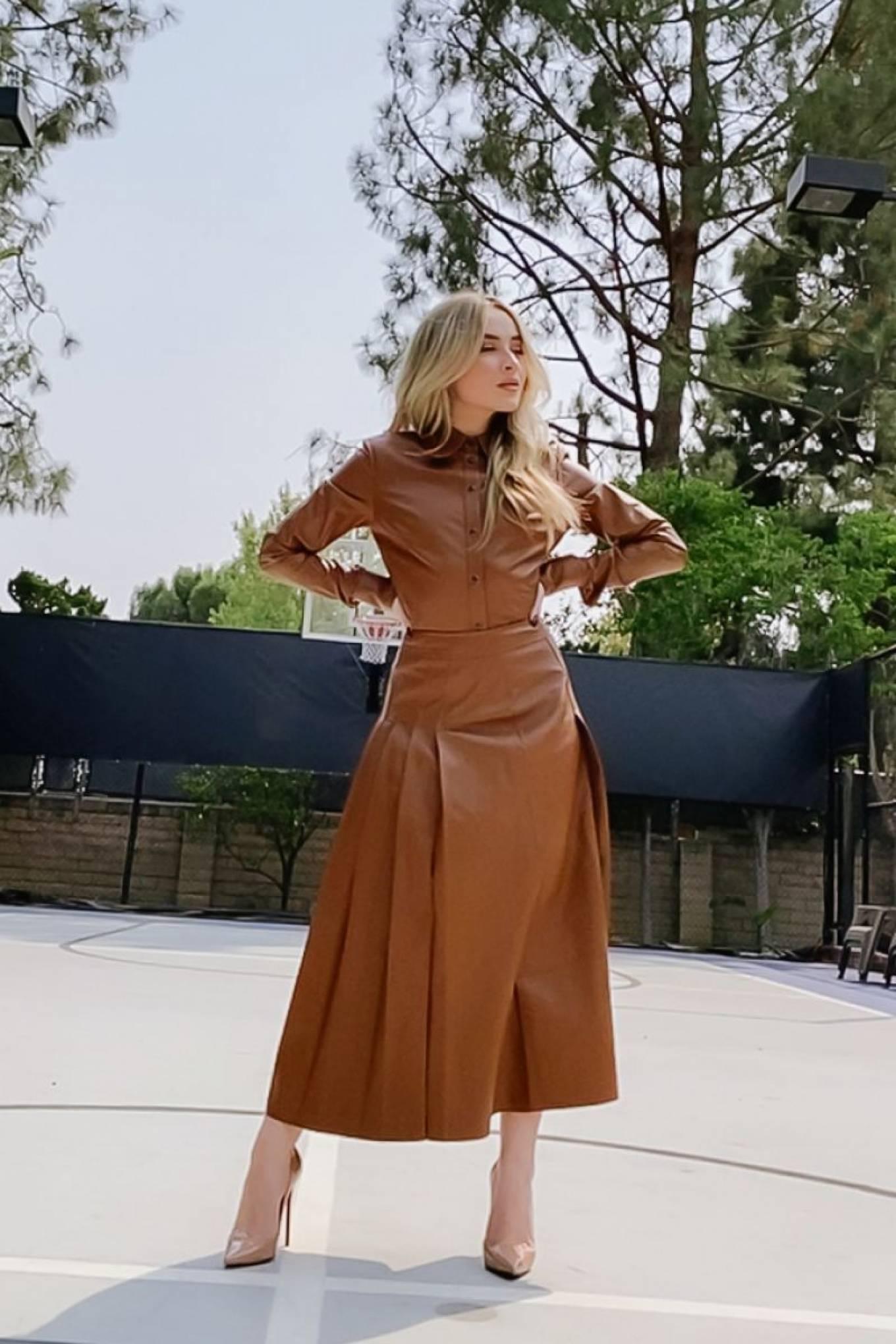Sabrina Carpenter 2020 : Sabrina Carpenter – CFDA Awards promo pics – September 2020-01