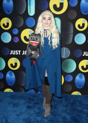Sabrina Carpenter - Just Jared Halloween Party in Hollywood