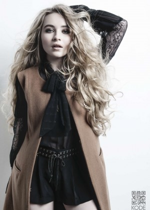 Sabrina Carpenter - Kode Magazine (December 2015)