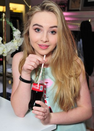 Sabrina Carpenter - Launch Party for WILDFOX Loves Coca-Cola Capsule Collection in West Hollywood