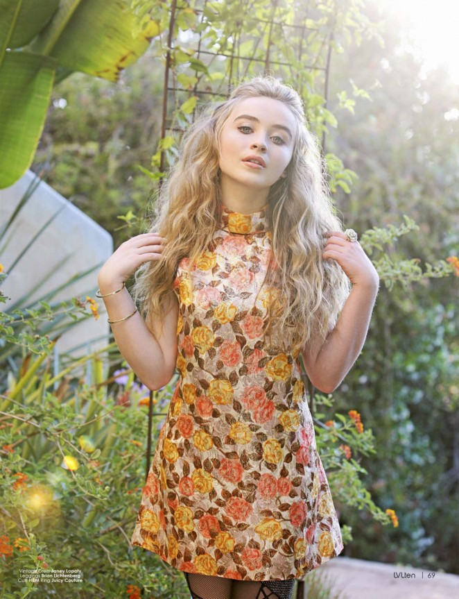 Sabrina Carpenter – LVLTen Magazine (September/October 2015)