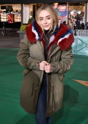 Sabrina Carpenter - Macy's Thanksgiving Day Parade Rehearsals in NYC