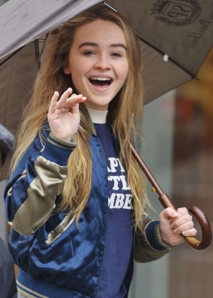 Sabrina Carpenter - Out and about in Vancouver